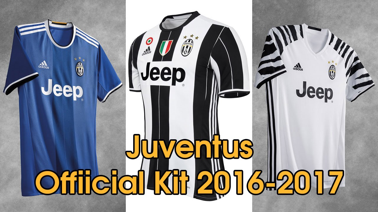 Adidas Juventus Official Kit 2016 2017 Youtube