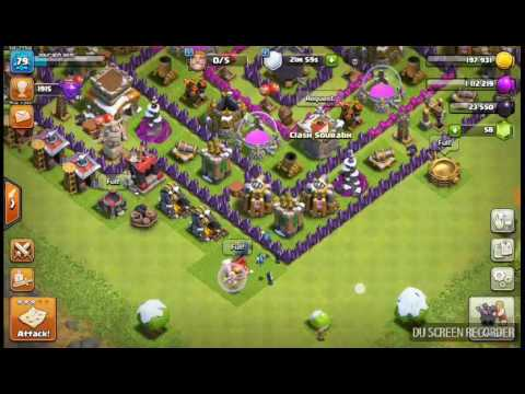Minion versus air bomb in Clash of Clans in Hindi