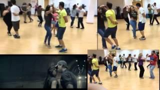 Enrique Iglesias - Bailando, Coreografía Salsa Gimnasio Vals Cónsul Latino Málaga (Paloma y Jose)