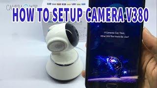 How to setup Camera V380 Camera IP (Version English)