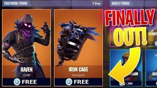 "*FINALLY* FORTNITE ""Raven"" SKIN & MORE OUT NOW!! - How To Get NEW RAVEN SKIN in Fortnite!"