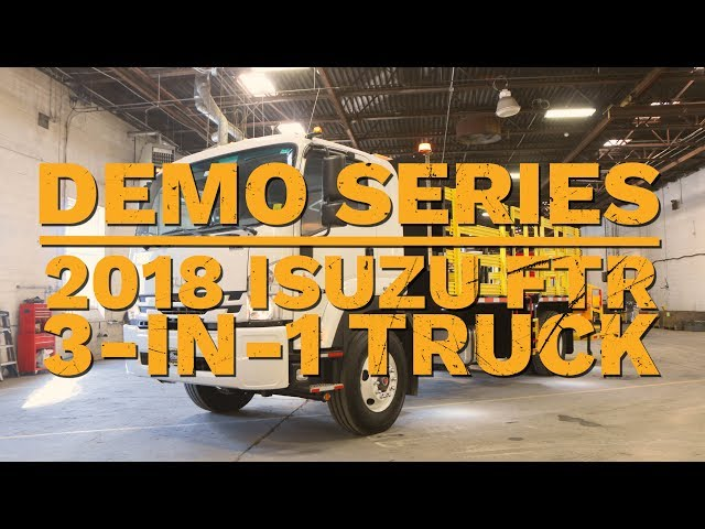2018 Isuzu FTR 3 in 1 | Truck Demo | Royal Truck & Equipment