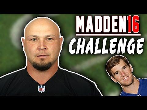 Can Sebastian Janikowski Sack Eli Manning? - Madden 16 NFL Challenge - Punters V Kickers