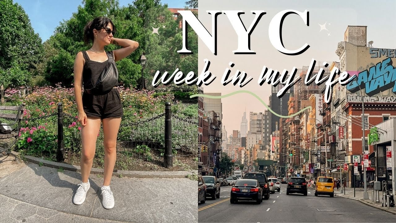 Goodbye New York ✨ my last week living in NYC VLOG | 2021