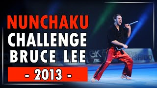 Nunchaku Freestyle Paris Bercy 2013 : Challenge Bruce Lee !