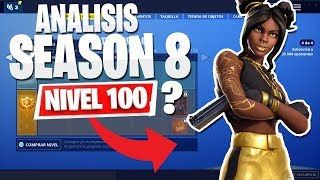 **SEASON 8**THE BEST OF THE LEVEL 100 SKIN BATTLE PASS! Fortnite Battle Royale