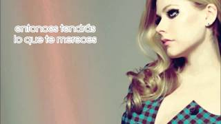 Avril Lavigne- Give you what you like en español