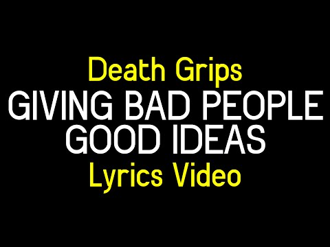Death Grips Giving Bad People Good Ideas Lyrics Lyrics Mix