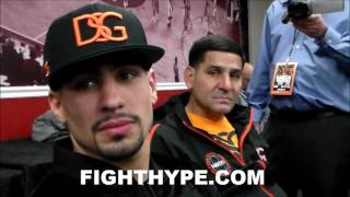 DANNY GARCIA TELLS KEITH THURMAN HE'S A CHERRY; REVEALS WORDS TRADED DURING HEATED CONFRONTATION