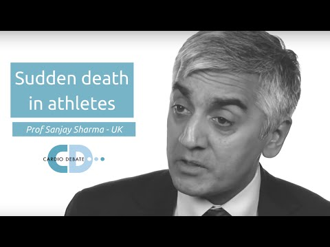 Sudden death in athletes Prof Sanjay Sharma