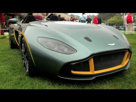 Aston Martin CC100 Speedster Concept - Up Close @ Pebble Beach - CAR and DRIVER