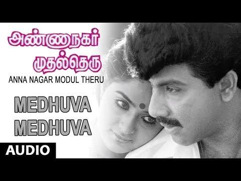 Medhuva Medhuva Full Song || Anna Nagar Modul Theru || Satyaraj, Ambika || Chandra Bose, Valee