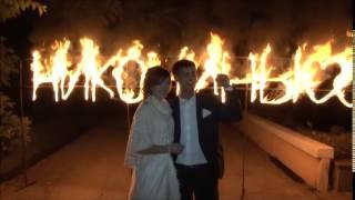 Жених и невеста зажигают фамилиюи сердца. Саратов