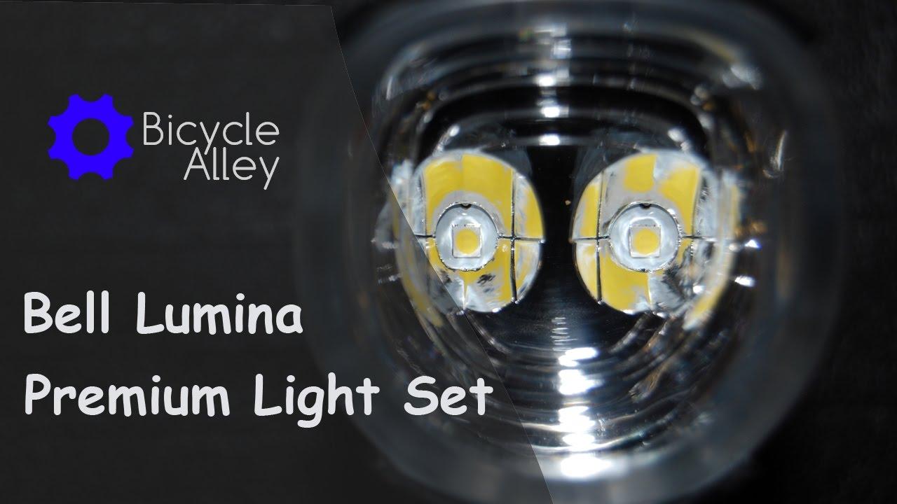 Walmart Bell Lumina Bicycle Head Light Tail Light Set 150 Lumens