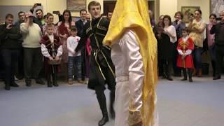 Кумыкский танец (Москва. Кумыкский вечер 09.02.2014)