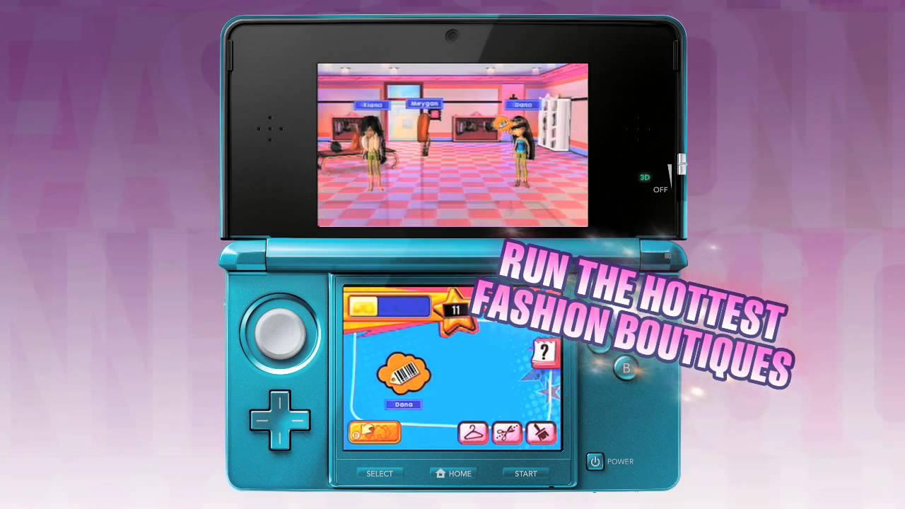 Bratz: Fashion Boutique for Nintendo DS - Nintendo Game Details 8