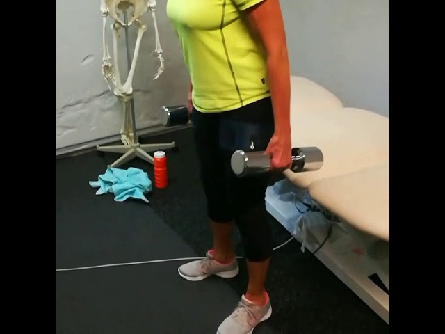 Fit Cuffs - Occlusion Training: Knee Rehab - Dumbbell Squats