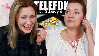 TELEFON CHALLENGE mit meiner MUTTER | janasdiary