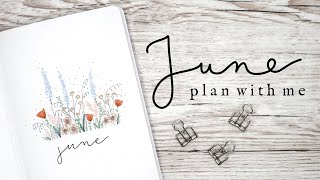 Plan With Me June 2020 | Bulle…