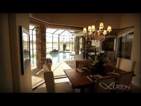 Christopher Burton Luxury Homes Signature Series Model in Charolais Estates, Viera, FL