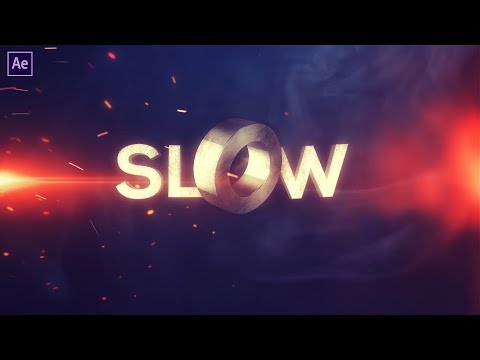 Cinematic Slow Motion Title Effect   Element 3D   After Effects Tutorial   Effect For You