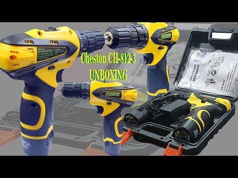"Cheston 12v cordless drill "" CD-812-3 "" UNBOXING |Torque Setting (19+1)"