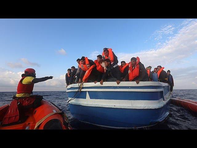 В Средиземном море спасены более 400 мигрантов, около 150 утонули