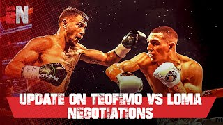 update on Teofimo vs Loma Negotiations