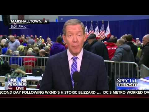 Carl Cameron: Influential Pro-Life Leaders Hit Trump on Eve of Caucuses