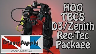 Divers Supply Total Buoyancy Control System Regulator Package