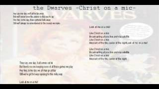 Watch Dwarves Christ On A Mic video