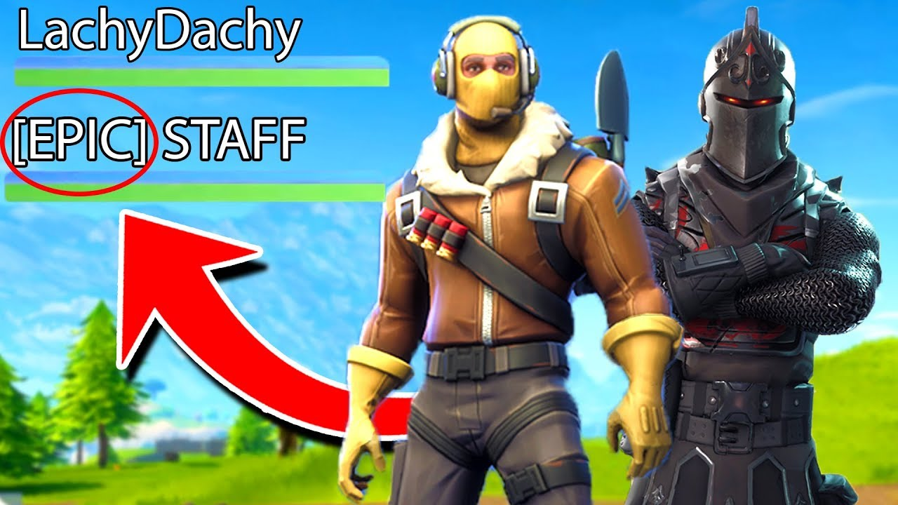 I Played FORTNITE With An EPIC EMPLOYEE! - YouTube