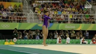 Rebeca Andrade BRA Qual Fx Olympics Rio 2016