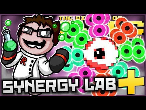 The Binding of Isaac: Afterbirth+ - Synergy Lab: ULTIMATE TEAR FIRING BUGGED LUDO! (LEGIT BROKEN