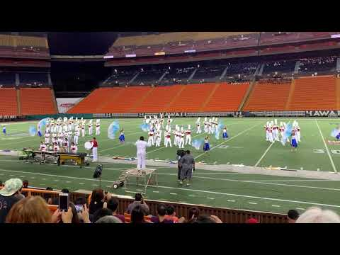Kalani High School Marching Band /2019 Rainbow Invitational Marching Band Fedtival