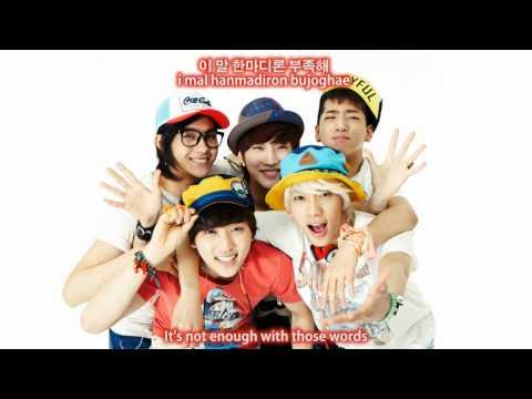 B1A4 (비원에이포) You Are My Girl Eng Sub + Han/Rom