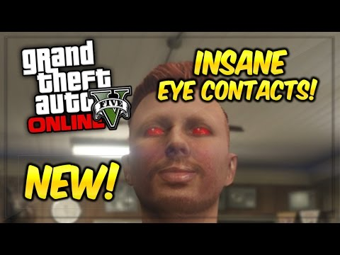 GTA 5 Online: Eye Customization - How To Get Zombie Eyes Guide! (GTA 5 Xbox & PS4 Gameplay)