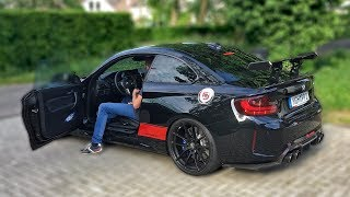 BMW M2 PP-PERFORMANCE w/ LOUD DECATTED FI EXHAUST *POPS & BANGS*