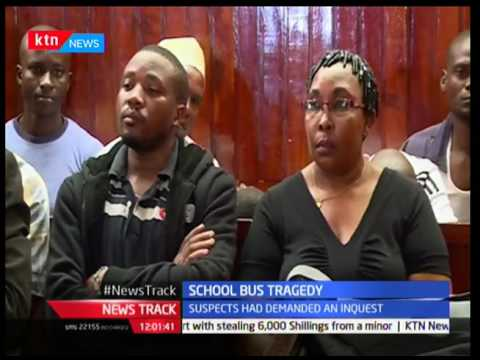 School principal charged with murder after pupil was crashed with school bus