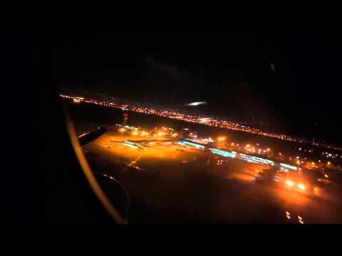 British Airways 777 - Flight 2264  night takeoff - Kingston Jamaica to London Gatwick