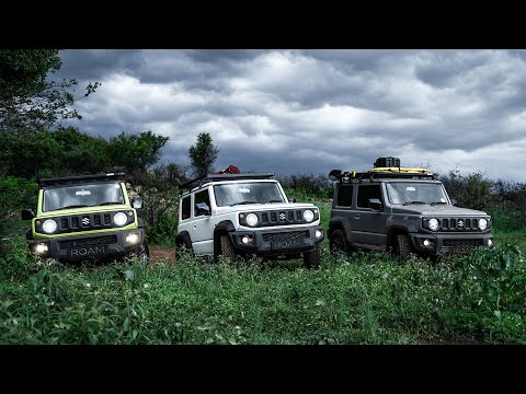 3 New Jimny's go Swimming at Groenkloof (2019)