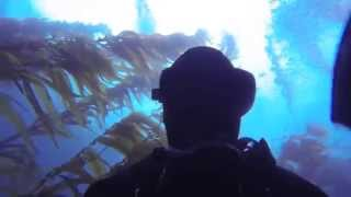 Mikes 33rd BDay Scuba Quaids Diving Spectre Dive Boat at Anacapa Island GoPro Hero4 2015
