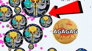 Agar.io Beast Rush Eater Team Dominating Epic Wins/Fails Best Moments Agario Mobile Gameplay