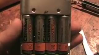 жөндеу, қайта жасау зарядтау үшін аккумуляторлар ААА