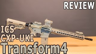 ICS CXP-UKI Transform 4 AIRSOFT REVIEW - Softair Test Transform 4 GSPAirsoft german / deutsch