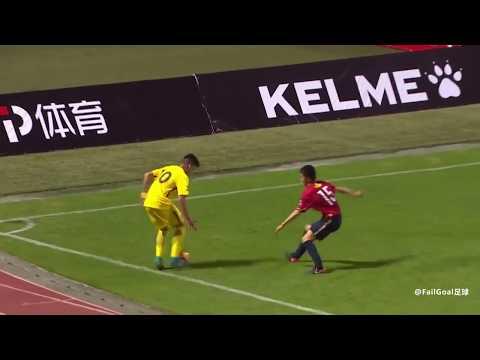 Boca U17 Cortes Brandon impossible angle goal VS Kashima Antlers u17