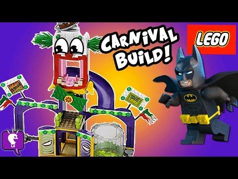 JOKERLAND Lego Build! Batman Tricks Bad Guys + Pie SMASH Kit 76035 HobbyKidsTV
