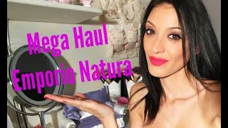Mega Haul EMPORIO NATURA || Organic Shop, Dr Konopka's, Natura Estonica, Iceveda, Oma Gertrude