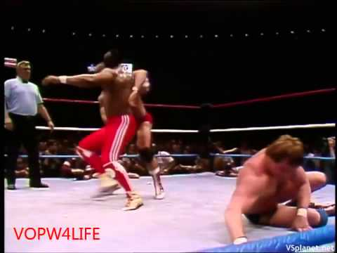 "WWE Wrestlemania 1: Hulk Hogan/Mr. T vs. ""Rowdy"" Roddy Piper/""Mr. Wonderful"" Paul Orndorff"