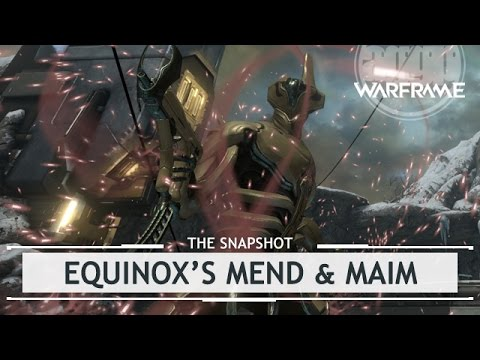 Warframe: Equinox's Overextended Mend & Maim Build - 3 Forma [thesnapshot]